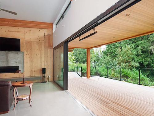 生态木墙板安装
