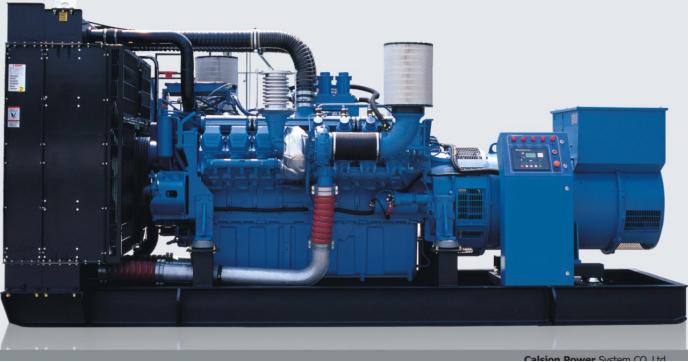 250KW奔驰柴油发电机组