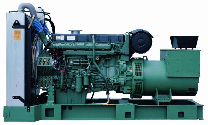 220KW沃尔沃柴油发电机组