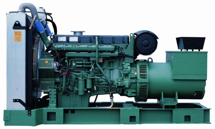 128KW沃尔沃柴油发电机组