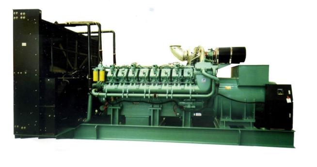 800KW科克柴油发电机组