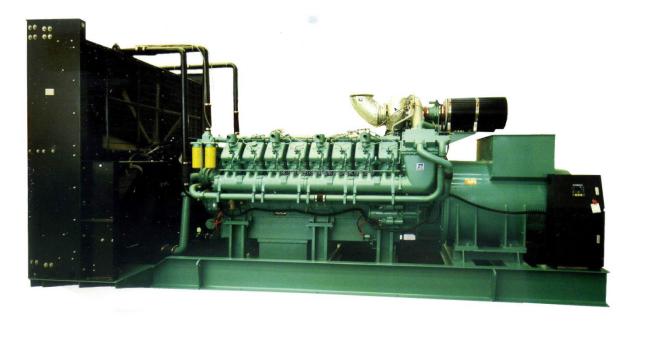 600KW科克柴油发电机组