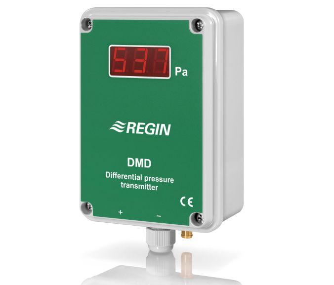 DMD带显示器的气体压差变送器