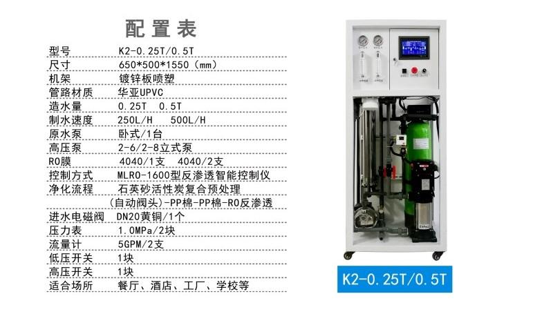 0.25吨水处理设备