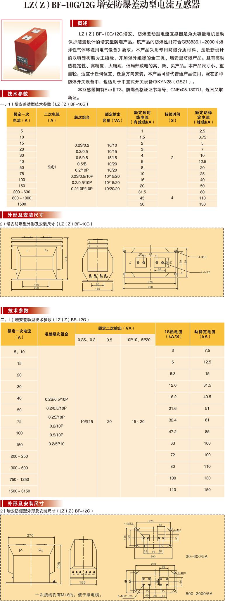 LZ(Z)BF-10G/12G