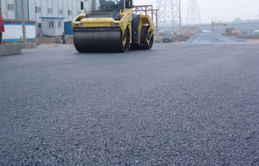 广西道路沥青铺设