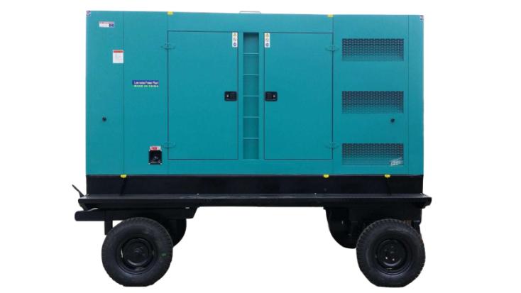 富电康静音移动式系列发电机组