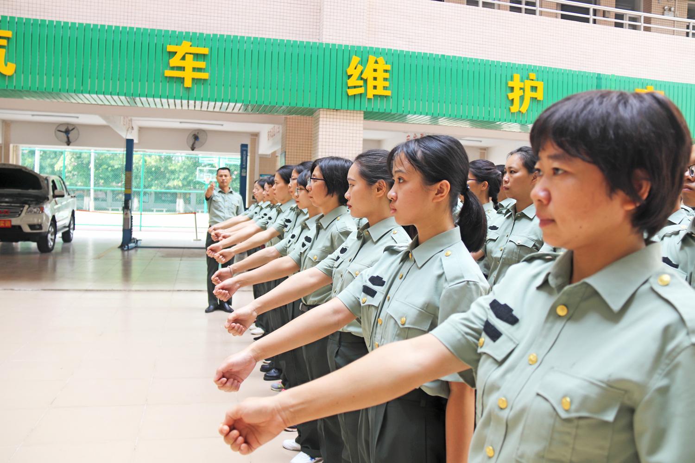軍事化訓練