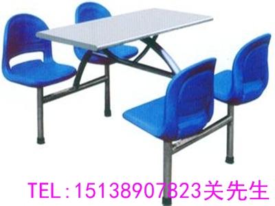 郑州四人连体餐桌椅