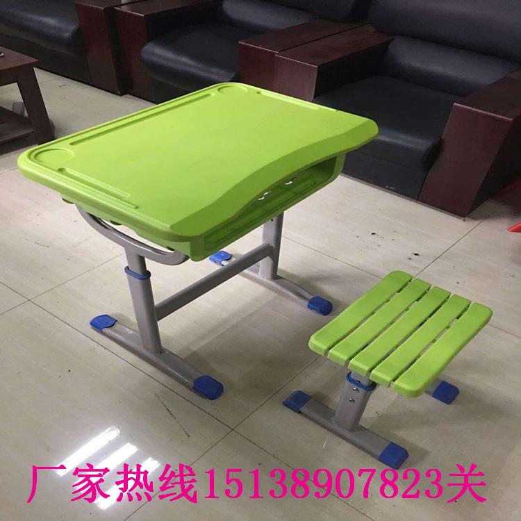 漯河双人升降课桌凳