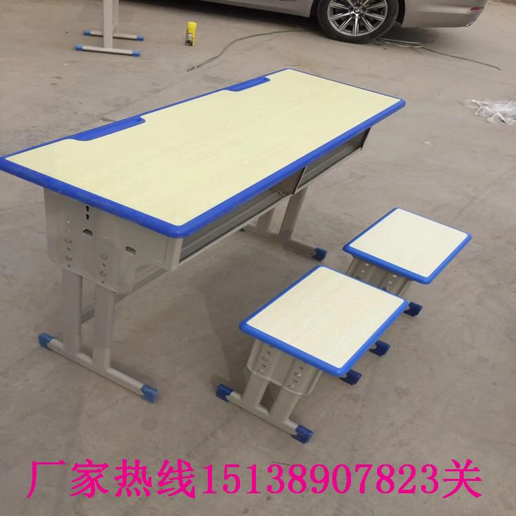 郑州单人固定课桌凳