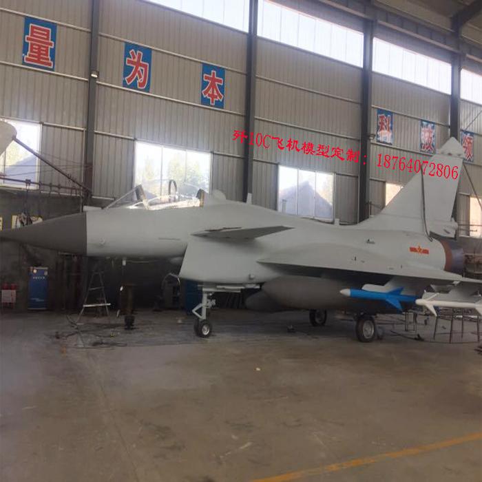 1:1歼10C战斗机模型