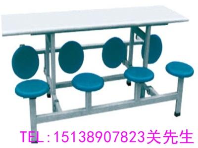 郑州八人连体餐桌椅