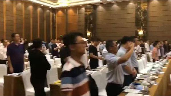 第33届中国节能绿 色墙体屋面产业博览会现场