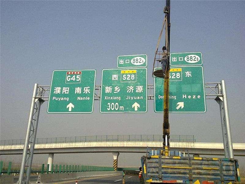 广西高速路龙门架