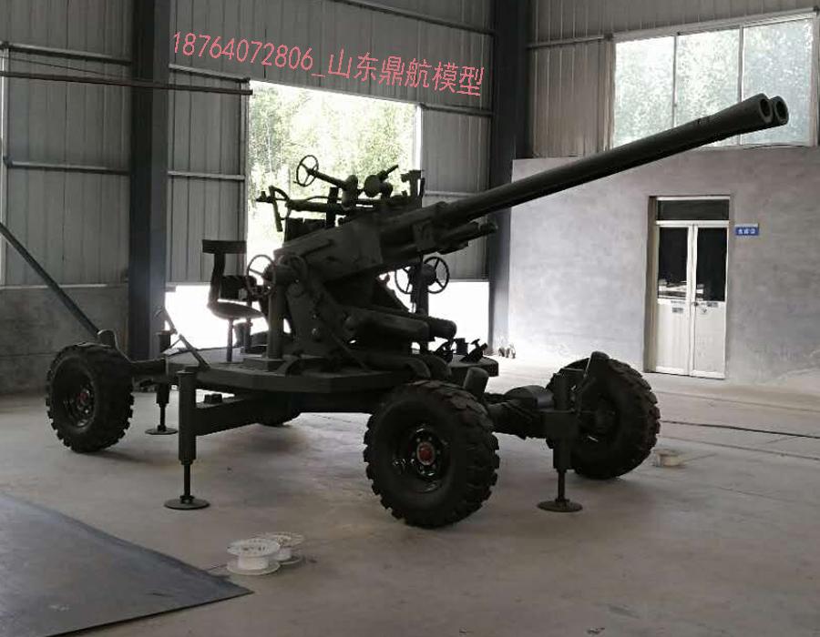 65式双37高炮模型