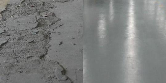旧水泥地面翻新