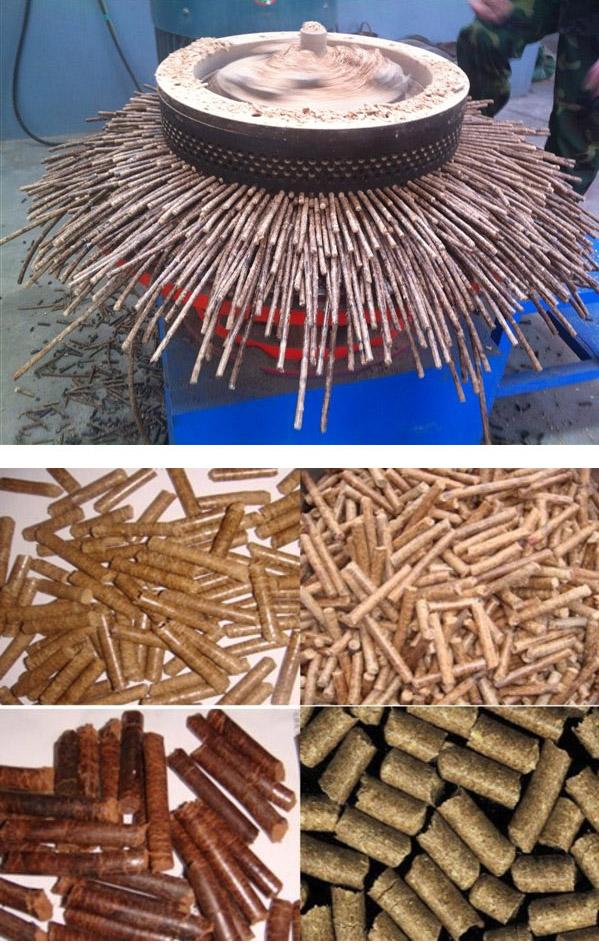立式环模生物质木屑颗粒机