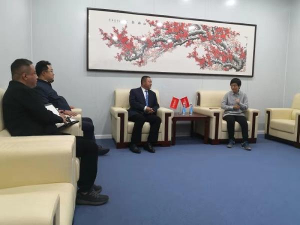 杨总受邀雄安与市农业部新闻部领导洽谈农业发展规划