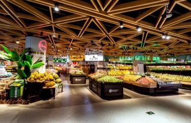 众派思超市设计案例_邻里优选滟澜洲店盛大开幕!