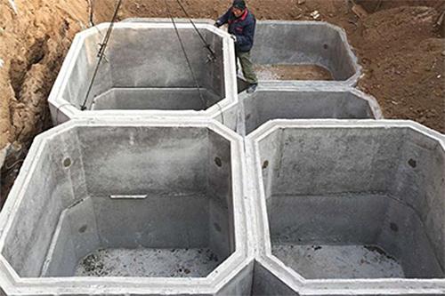 混凝土化粪池