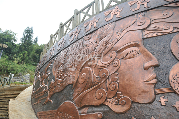 重庆铜雕塑