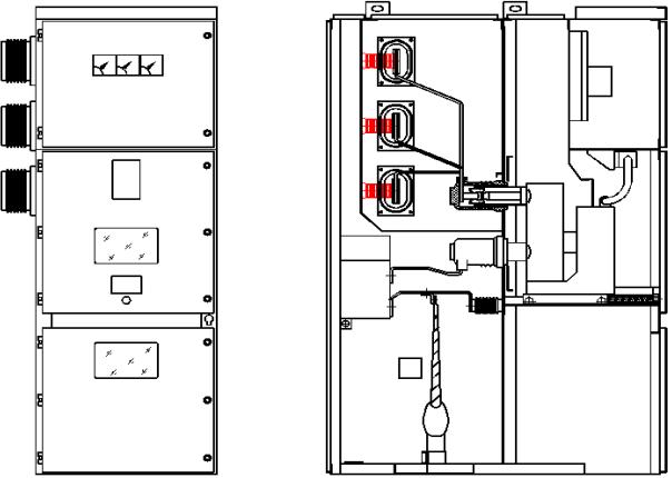 KYN28-12交流金屬鎧裝移開式開關柜