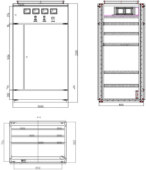 GGD低壓固定式開關柜