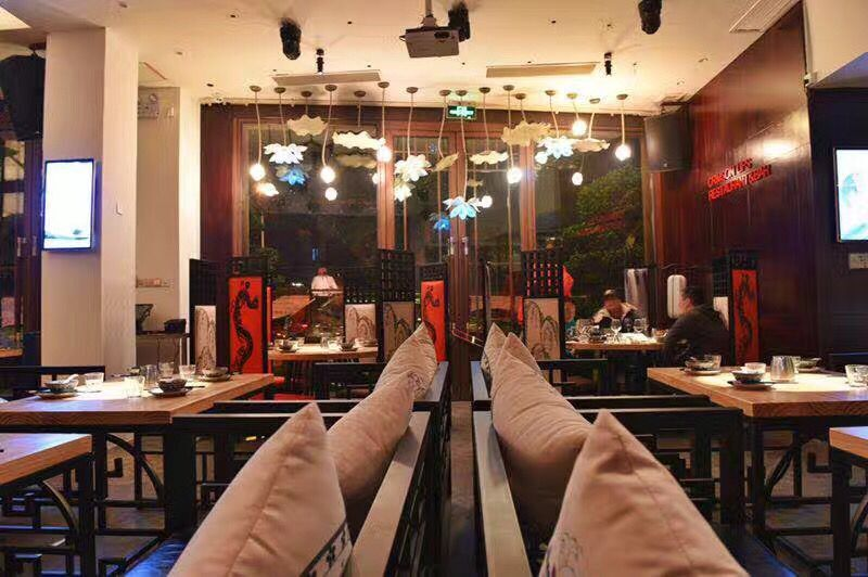 新中式铁艺椅子