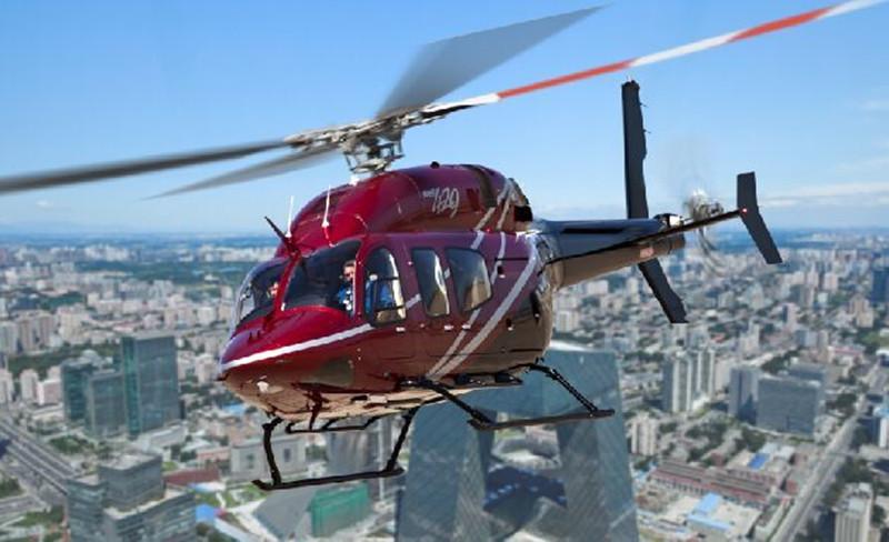 直升飞机观光