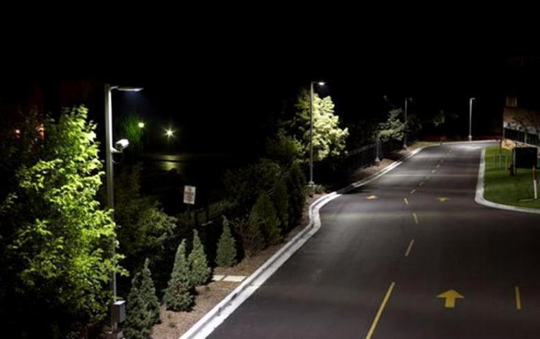 北海道路照明灯