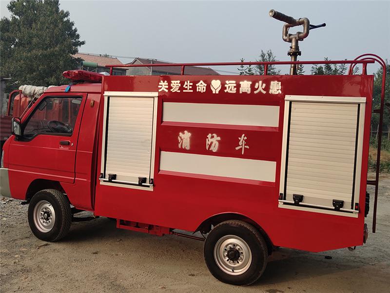 电动四轮消防车