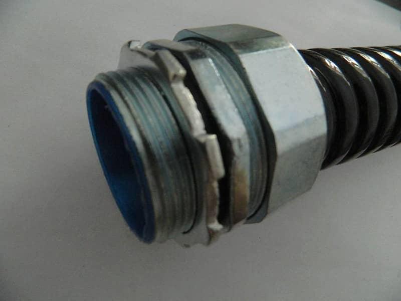 不锈钢包塑金属软管接头