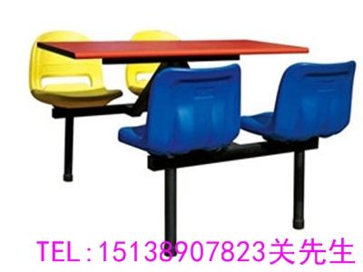 河南食堂餐桌椅