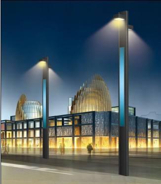 防城港太阳能庭院灯