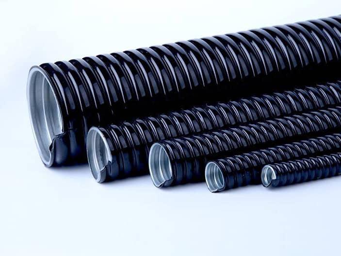 不锈钢包塑金属软管