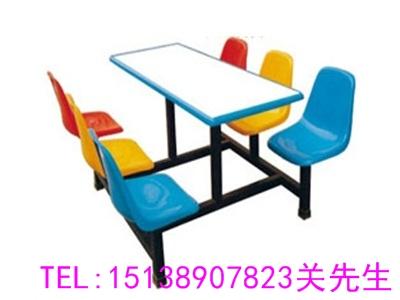 焦作四人位圆凳餐桌凳
