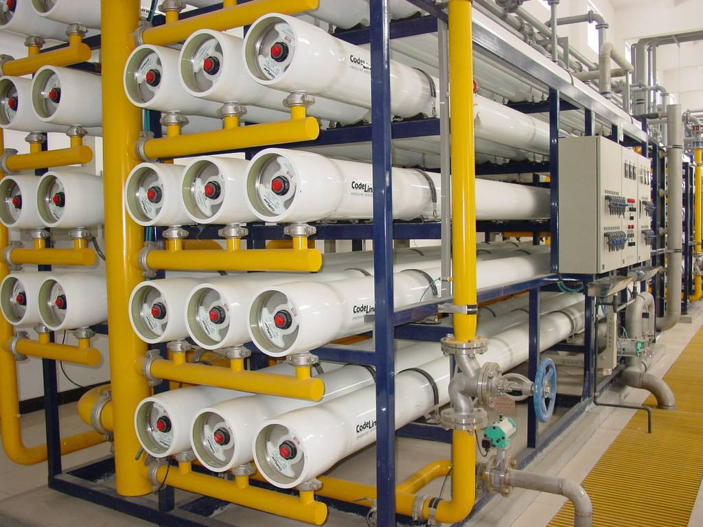 白银超纯水设备