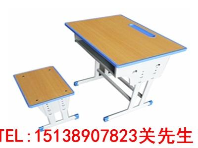 郑州学生单人钢木课桌椅
