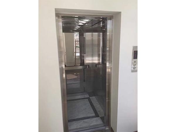 镜面蚀刻不锈钢别墅电梯