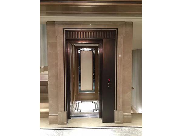 自动旁开门别墅电梯