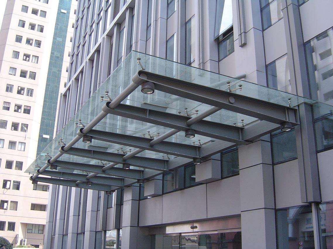 长沙钢结构雨棚
