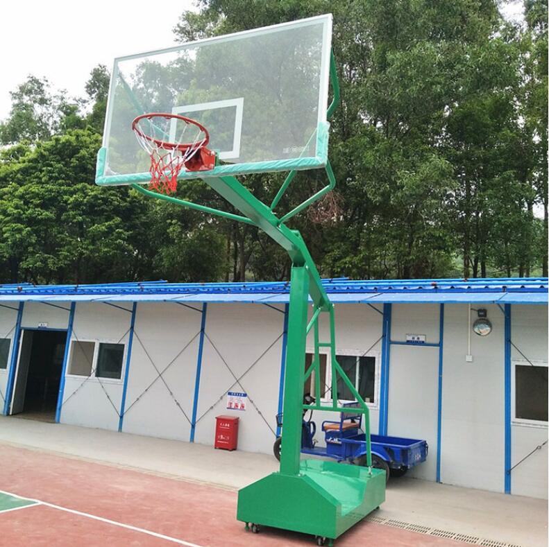 独臂篮球架