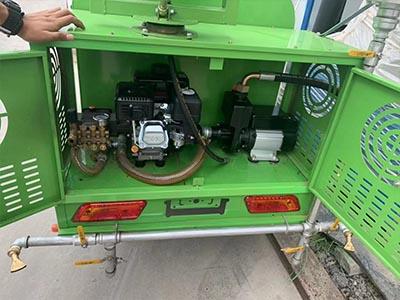 蘭州柴油多功能灑水車