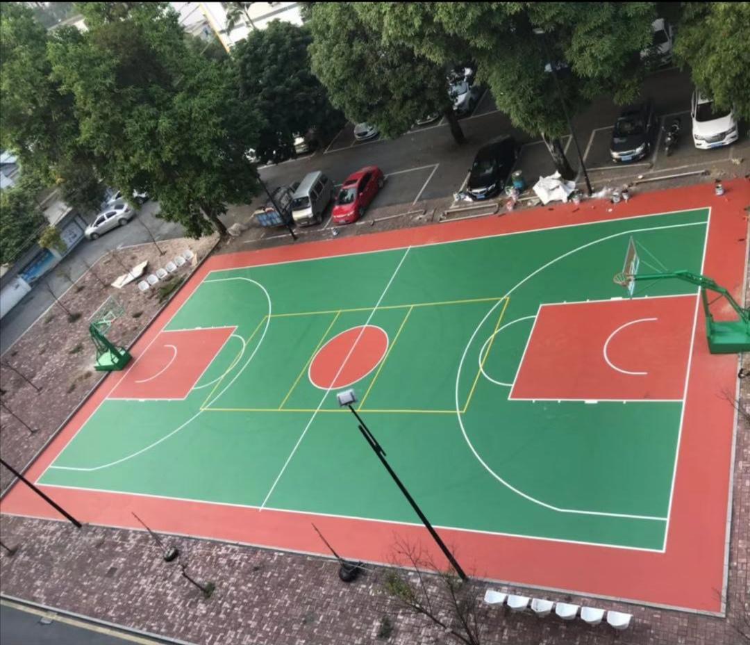 广西硅PU球场