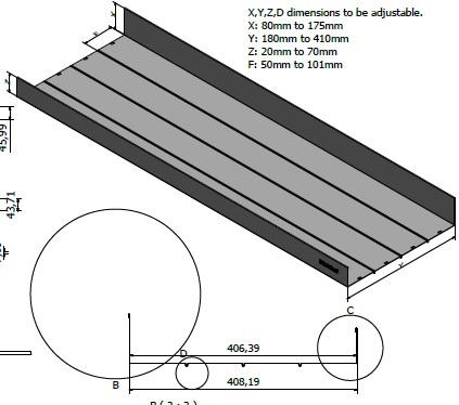 电器柜隔板生产线