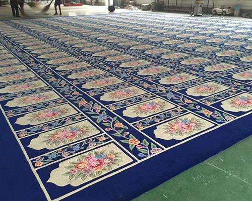 甘肃手工羊毛地毯