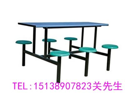 鄭州8人位連體餐桌椅