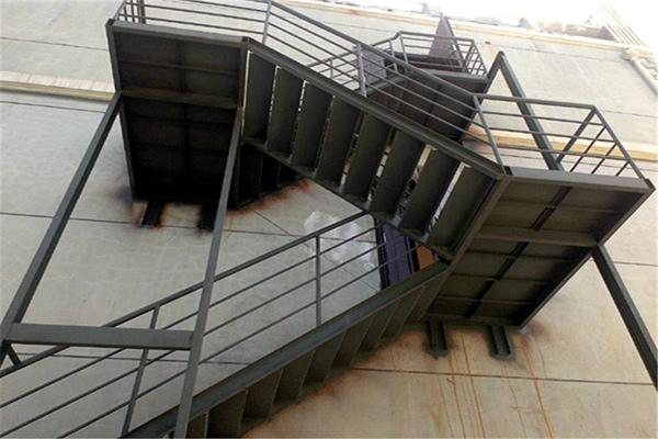 楼梯式钢结构工程架构