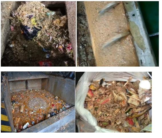 湿垃圾压榨机